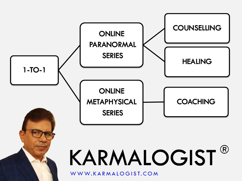 one to one metaphysical and paranormal series by Karmalogist Vijay Batra